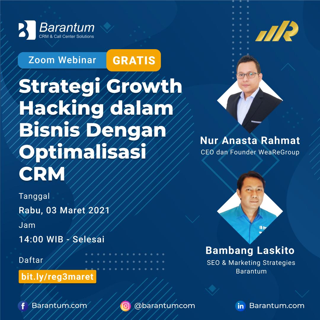 Strategi Growth Hacking dalam Bisnis Dengan Optimalisasi CRM