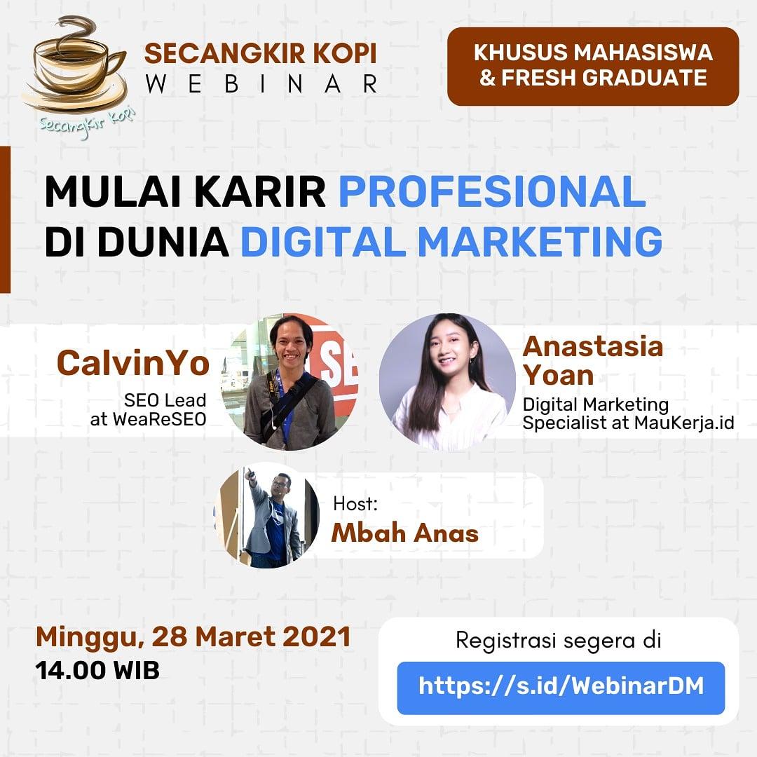 Mulai Karir Profesional Di Dunia Digital Marketing