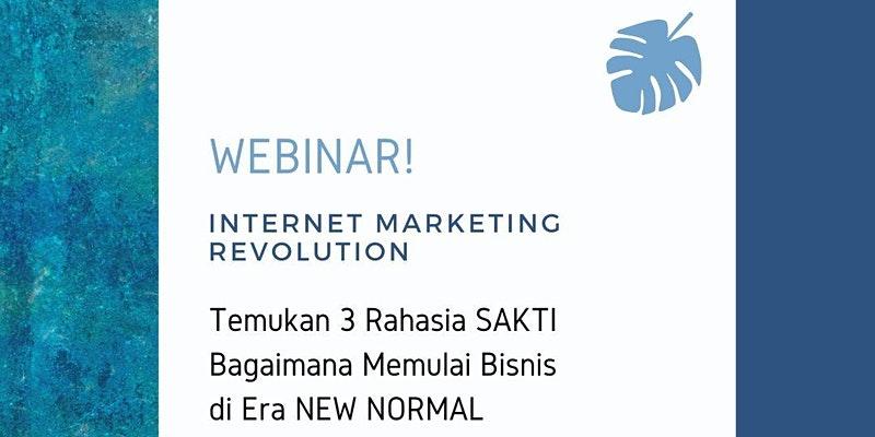 Webinar INTERNET MARKETING REVOLUTION