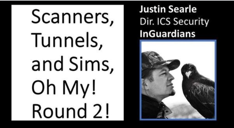 (CS)2AI Recast: Scanners, Tunnels, and Sims, Oh My! Round 2! with Justin Searle