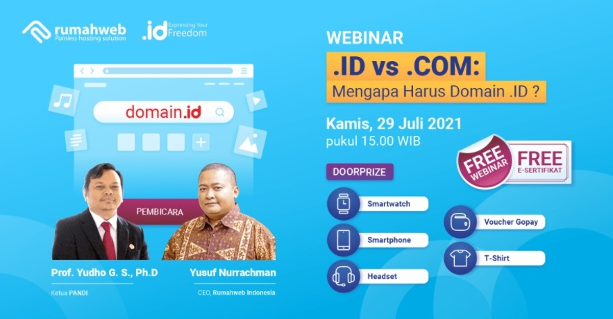 .ID vs .COM – Mengapa harus .ID?