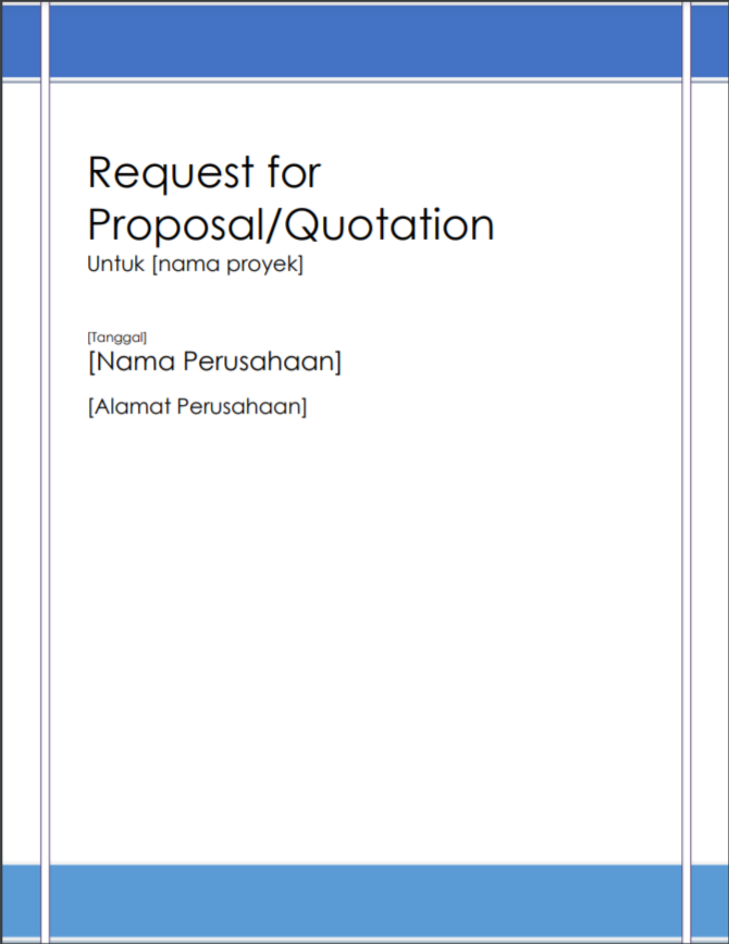 Request for Proposal 2